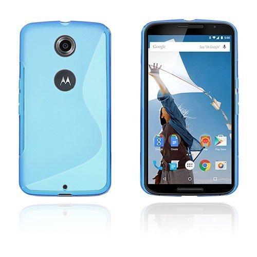 Lagerlöf Sininen Motorola Nexus 6 Suojakuori