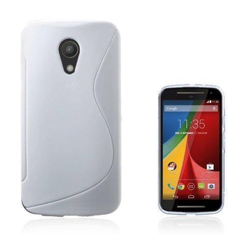 Lagerlöf Valkoinen Motorola Moto G2 Suojakuori