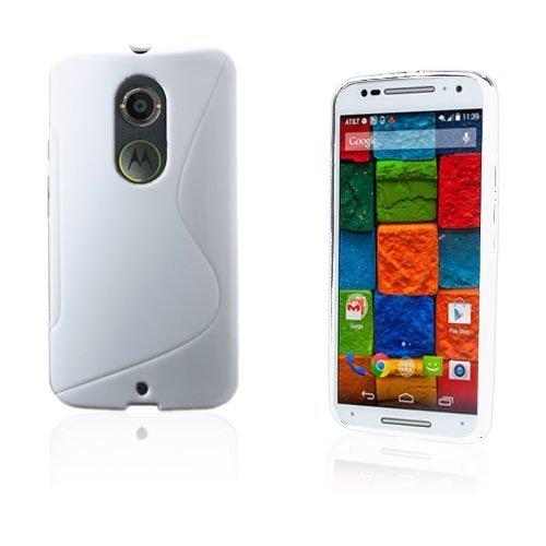 Lagerlöf Valkoinen Motorola Moto X2 Suojakuori