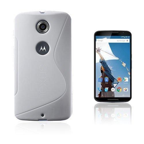 Lagerlöf Valkoinen Motorola Nexus 6 Suojakuori