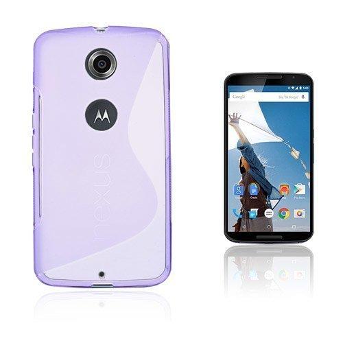 Lagerlöf Violetti Motorola Nexus 6 Suojakuori