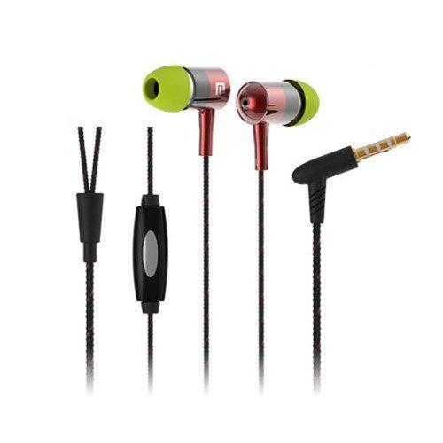 Langston I-1 Musta / Punainen Kudos Kuvio Kuulokkeet Mikrofonilla