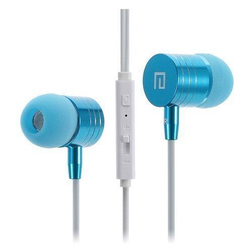 Langston I-7 Sininen Metallikuori Kuulokkeet Mikrofonilla