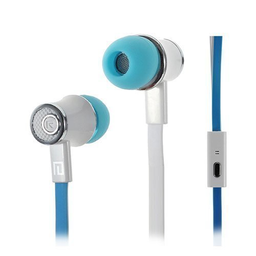 Langston Jm21 Nappikuulokkeet Mikrofonilla Älypuhelimille Sininen