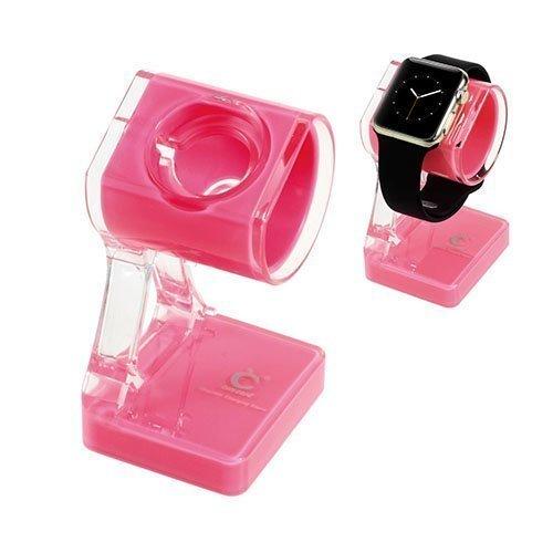 Latausteline Apple Kellolle Pinkki