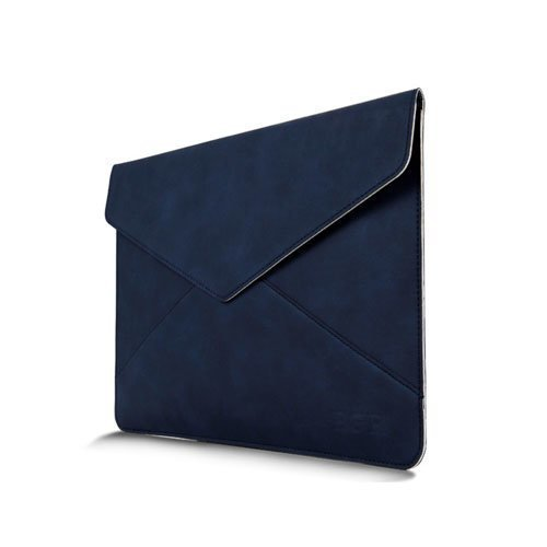 Leather Bag For 13.3 Inch Laptops 380x300mm Blue