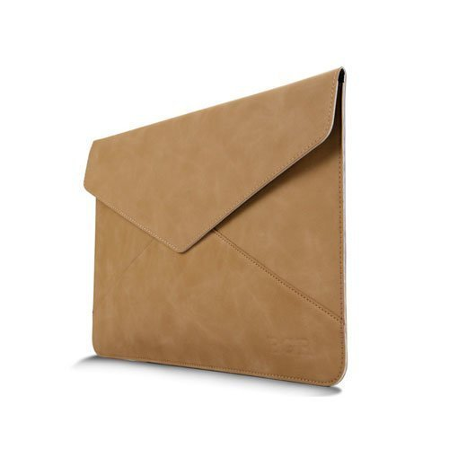 Leather Bag For 13.3 Inch Laptops 380x300mm Khaki