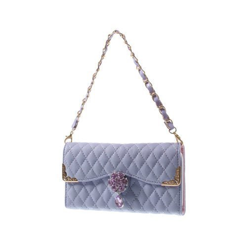 Leather Purse Violetti Iphone 6 Laukku