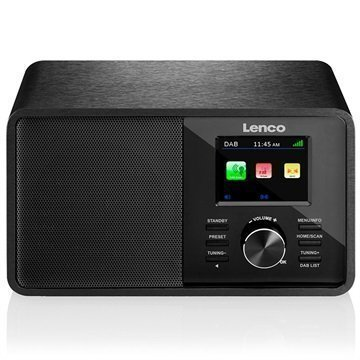Lenco CR-2004 DAB+ Radio Black