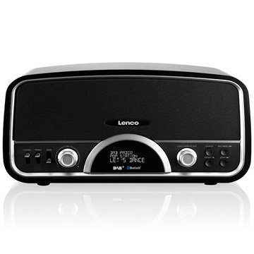 Lenco DR-05 BT DAB+ Radio Black