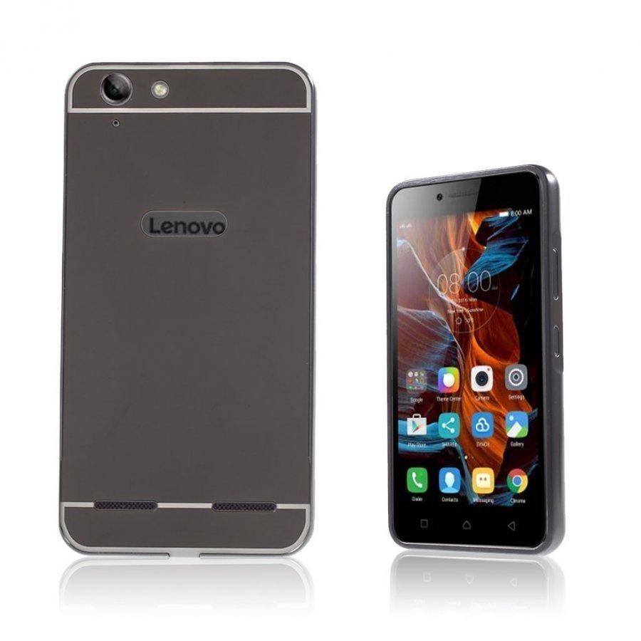 Lenovo K5 Peilimäinen Suojakuori Musta