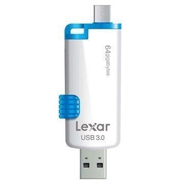 Lexar JumpDrive M20 Dual USB Stick 64GB