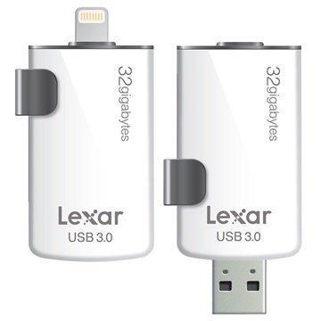 Lexar JumpDrive M20i Lightning / USB 3.0 Muistitikku 32Gt