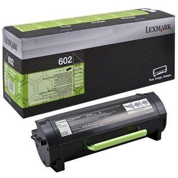 Lexmark 602 Toner 60F2000 Musta