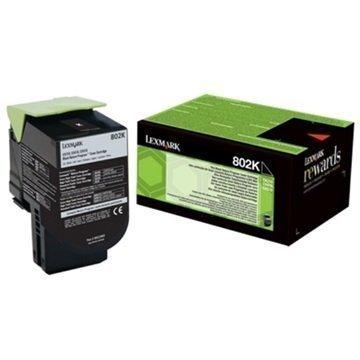 Lexmark 802K Värikasetti 80C20K0 Musta
