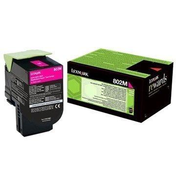 Lexmark 802M Värikasetti 80C20M0 Magenta