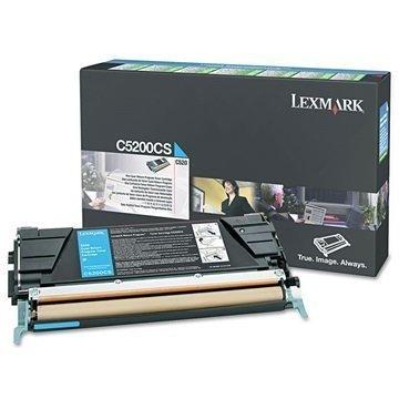 Lexmark C5200CS Värikasetti Syaani