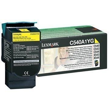 Lexmark C540A1YG Toner Keltainen