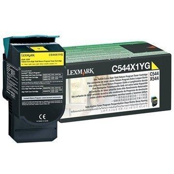 Lexmark C544X1YG Toner Keltainen