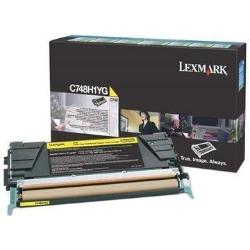 Lexmark C748H1YG Toner Keltainen