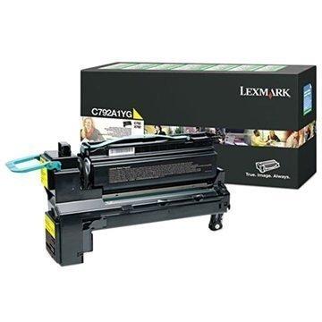 Lexmark C792A1YG Toner Keltainen