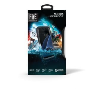 Lifeproof Fre Galaxy S8+ ''asphalt'' Black/Dark Grey Suojakuori