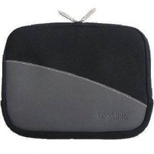 LogiLink Sleeve for 10'' Tablets Black/Grey