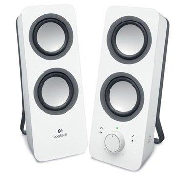 Logitech Z200 2.0 Stereo Kaiuttimet Valkoinen