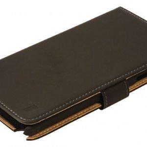 Lompakkokotelo Galaxy Note 4 musta