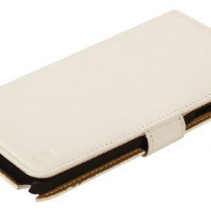 Lompakkokotelo Galaxy Note 4 valkoinen