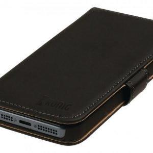 Lompakkokotelo Galaxy S5 musta