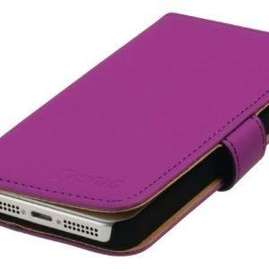 Lompakkokotelo Galaxy S5 vaaleanpunainen