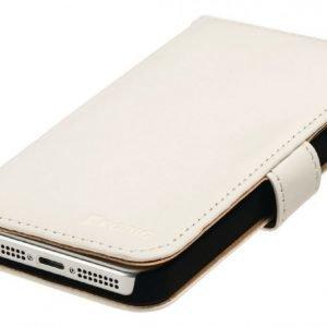 Lompakkokotelo Galaxy S5 valkoinen