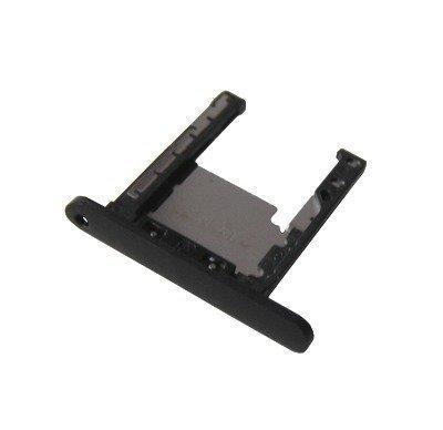 Lumia 720 Musta Micro SD / muistikortin kelkka