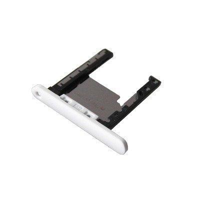 Lumia 720 Valkoinen Micro SD / muistikortin kelkka