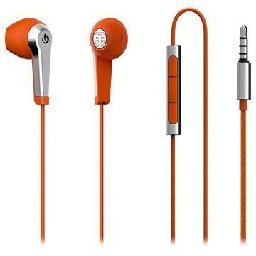 Lumigon H2 In-Ear Stereokuulokkeet Oranssi / Hopea