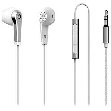 Lumigon H2 In-Ear Stereokuulokkeet Valkoinen / Hopea