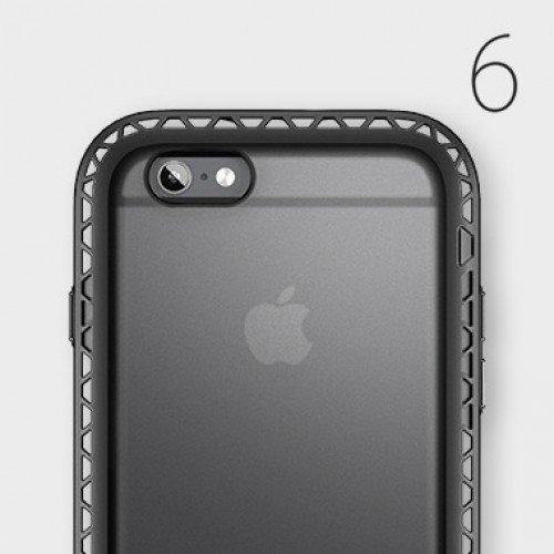 Lunatik SEISMIK for iPhone 6 Black/Clear