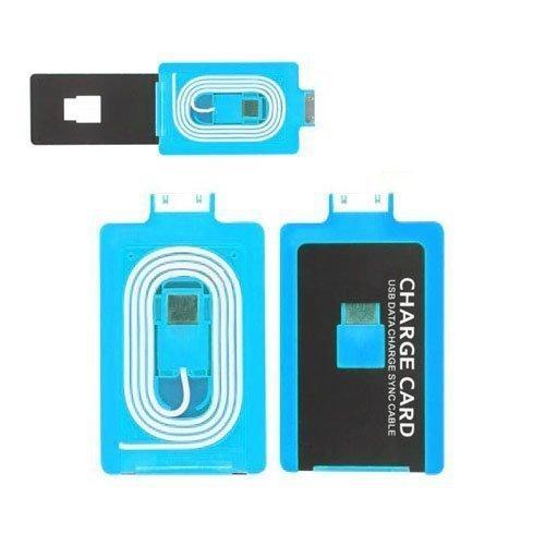 Luottokortin Kokoinen Samsung Galaxy Tab Laturi. Sininen 30 Pin