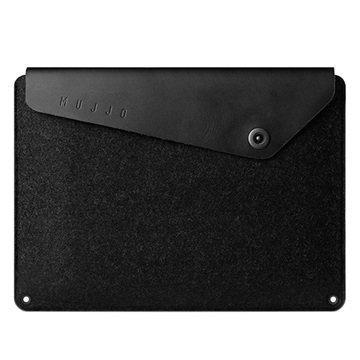 MacBook 12 Mujjo Kotelo Musta
