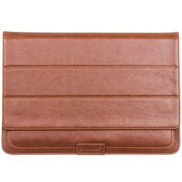 MacBook 12 Qialino Leather Case Brown