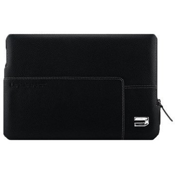 MacBook 12 Urbano Explorer Leather Sleeve Black