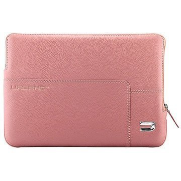 MacBook 12 Urbano Explorer Leather Sleeve Pink
