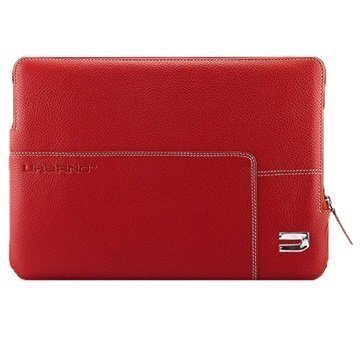 MacBook 12 Urbano Explorer Leather Sleeve Red