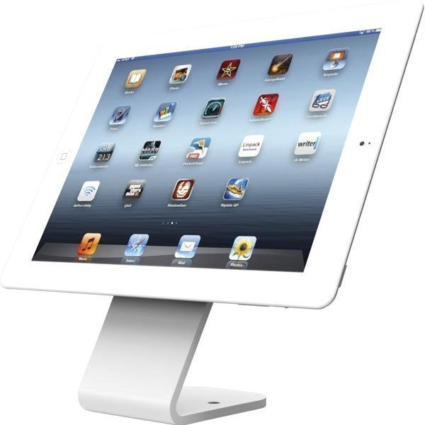 Maclocks HoverTab pöytäteline älypuhelimille ja tableteille valk