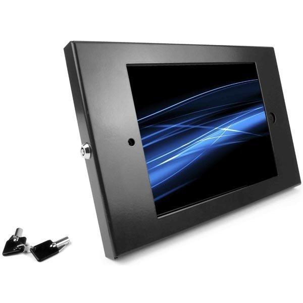Maclocks iPad Enclosure Wall Mount seinäteline iPad musta