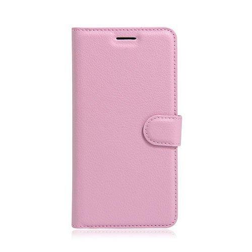 Mankell Motorola Moto G4 / G4 Plus Suojaava Nahkakotelo Läpällä Pinkki