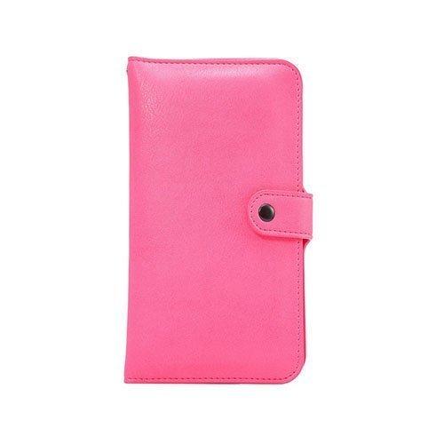 Mankell Norsunnahka Pintainen Kaksois-Kerroksinen Nahkakotelo Huawei Mate 8 Puhelimelle Pinkki