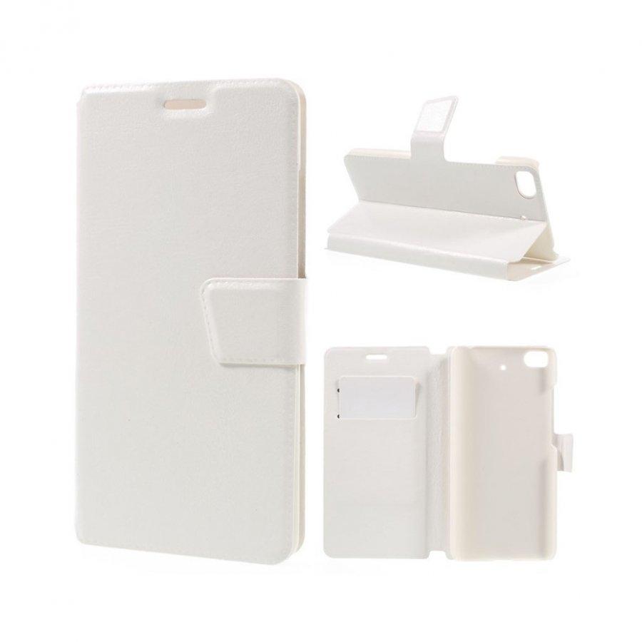 Mankell Xiaomi Mi 5s Nahkakotelo Läpällä Ja Standillä Valkoinen