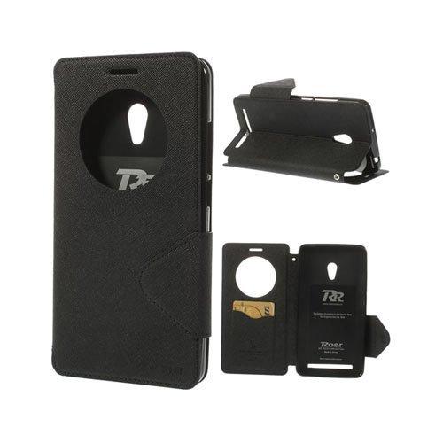 Marklund Musta Asus Zenfone 6 Nahkakotelo